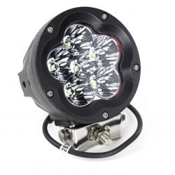 LAMPA  ROBOCZA LED 6LEDX10W,  126X100MM SZE./GŁ