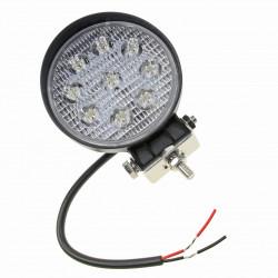 LAMPA ROBOCZA LED OKRĄGŁA 2250 LM, 9 LED X 3W 35MM