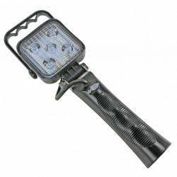 LAMPA  ROBOCZA LED 5LEDX3W,NA RĄCZCE  85X85X37MM DŁ/WYS./GŁ