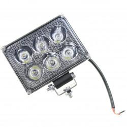 LAMPA ROBOCZA LED PROSTOKĄTNA 1800LM, 6 LED X 3W