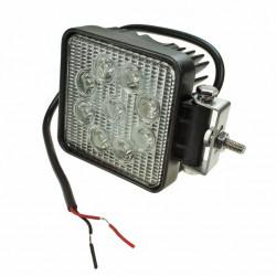 LAMPA ROBOCZA LED KWADRAT 2250LM, 9 LED X 3W
