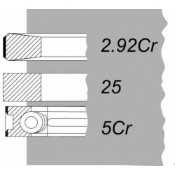 KPL. PIERŚCIENI MTZ D260   THM (3PIERSCIENIE))